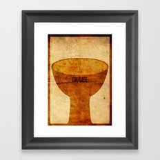 Crusade (aged) Framed Art Print