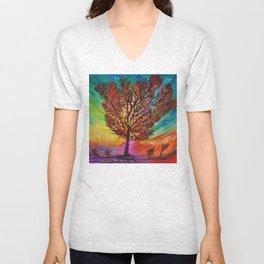 The Wow Tree Unisex V-Neck