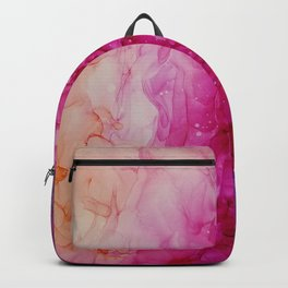Pink Dream_ Abstract Painting Backpack
