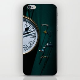 The Clock Watchers iPhone Skin