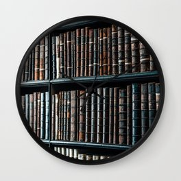 bibliotheque Wall Clock