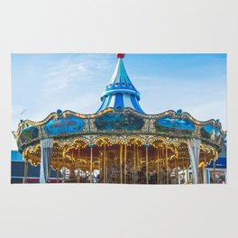 Carousel Pier 39 San Francisco Rug