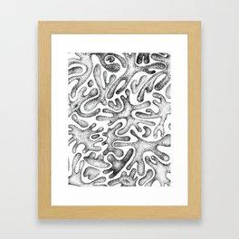 BREEDING Framed Art Print
