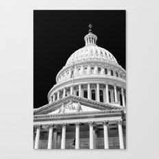 The Capitol  Canvas Print