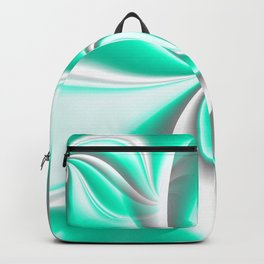 Turn Around (green) Backpack