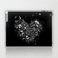 Heart2 Black Laptop & iPad Skin
