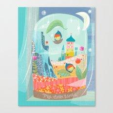 my little world Canvas Print