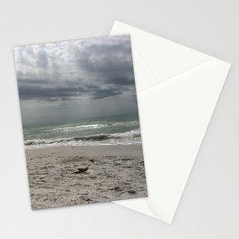 Lake Michigan storm Stationery Cards