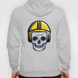 skull helmet Hoody
