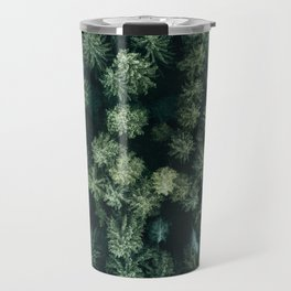 Forest from above - Landscape Photography Travel Mug