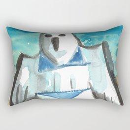 bikini ghost Rectangular Pillow