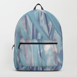 Soft turquoise morning grass Backpack