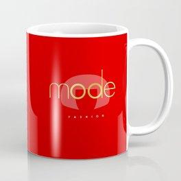 Bold RED Coffee Mug