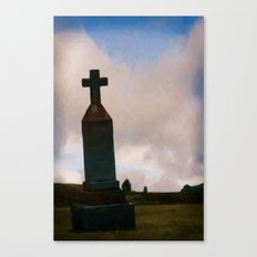Cross on the Hill Canvas Print