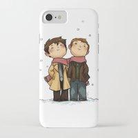 destiel iPhone & iPod Cases featuring Advent Destiel by Ravenno