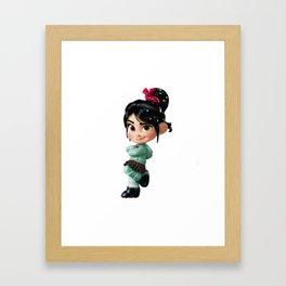 vanellope Framed Art Print