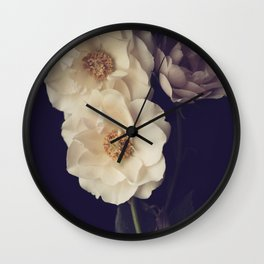 blooms Wall Clock