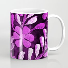 Violet Mexican Flowers Coffee Mug
