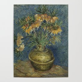 Vincent Van Gogh - Imperial Fritillaries in a Copper Vase Poster