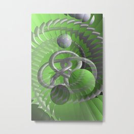 illusion - escaped Metal Print