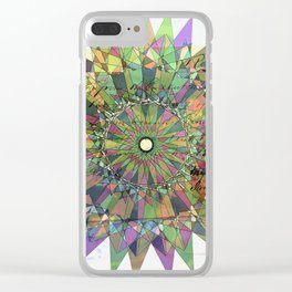 spiro with quote Clear iPhone Case