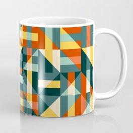 Mid Mod Checks Coffee Mug