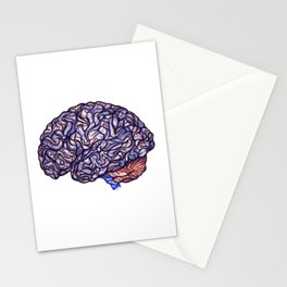 Brain Storming and tangled thoughts Stationery Cards
