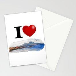I Love Napoli Stationery Cards