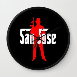 San Jose mafia Wall Clock