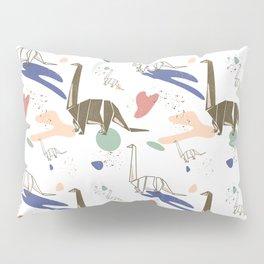 Origami Dinosaur  Pillow Sham