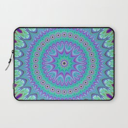 Explosive mandala ball Laptop Sleeve