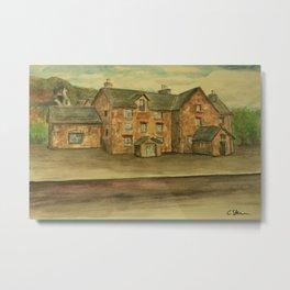 Drover's Inn WC161001a Metal Print