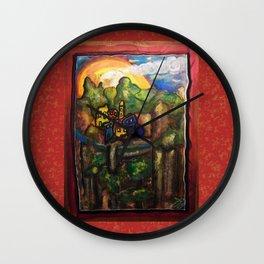 ALPES MARITIMES Wall Clock