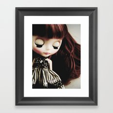 Sleeping Framed Art Print