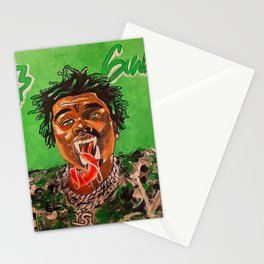gunna,ds3,drip season 3,rapper,album,poster,wall art,fan art,music,hiphop,rap,rapper Stationery Cards