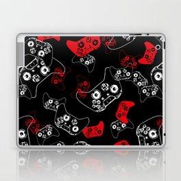 Video Game Red on Black Laptop & iPad Skin