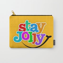 Stay Jolly - Key to Happiness Carry-All Pouch