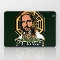 ale giorgini iPad Cases featuring St. James Bitter Ale by Ant Atomic
