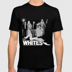 The Whites MEDIUM Black Mens Fitted Tee