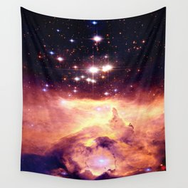 Galaxy nebUla : Warm Scorpius Wall Tapestry