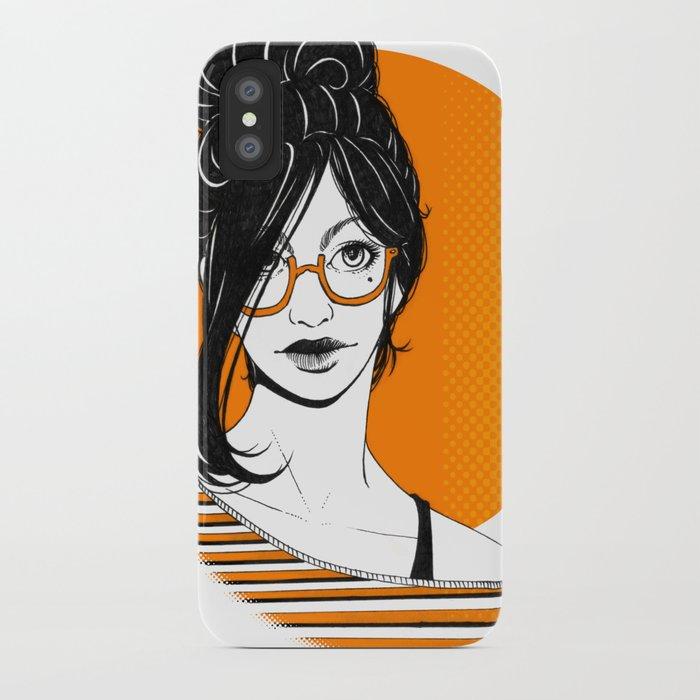 GIRL 01 iPhone Case