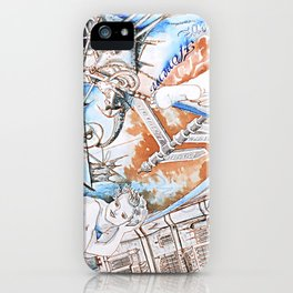 London and Florence iPhone Case
