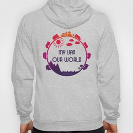 My Van Our World - Sunset Hoody