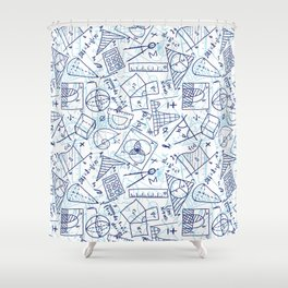 School Chemical #3 Shower Curtain