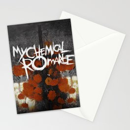 My Chemical Romance - The Black Parade Is Dead! Stationery Cards