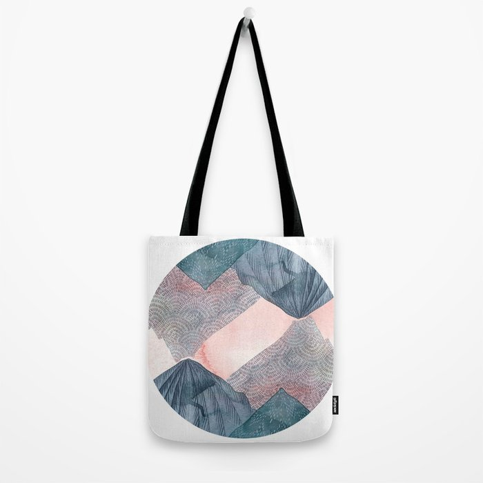 O'er and Under the Wild Mountains Tote Bag