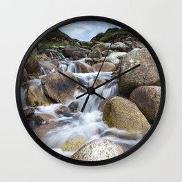 Stream Into Porth Nanven Wall Clock