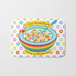 Eat Breakfast! Bath Mat