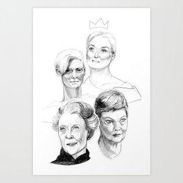 Grand Dames Art Print