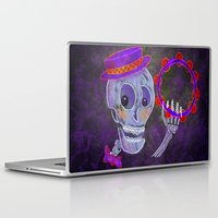 skeleton Laptop & iPad Skins featuring Skeleton by Rich Green